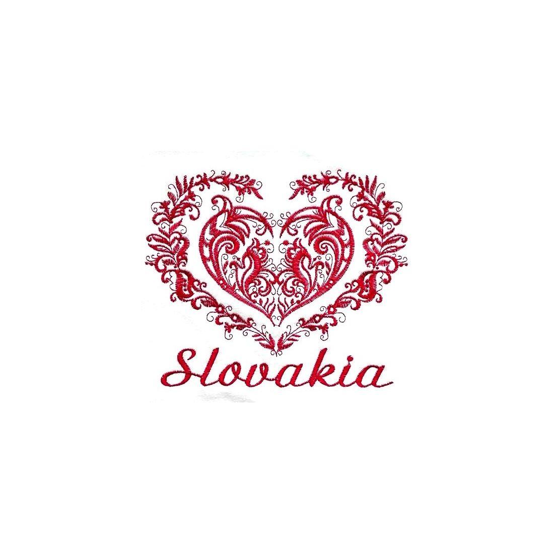 ea9abc4a0bc2e vyšívané tričká, dámske, tričko, www.somigroup.sk, srdce SLovensko